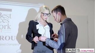 Babes – Office Obsession – Your Attention, Please  starring  Karol Lilien and Charlie Dean clip