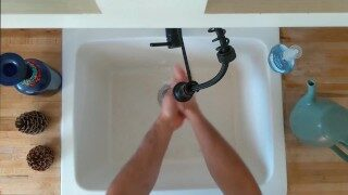 Described Video – Polite Washing of the Hands by Trip Richards